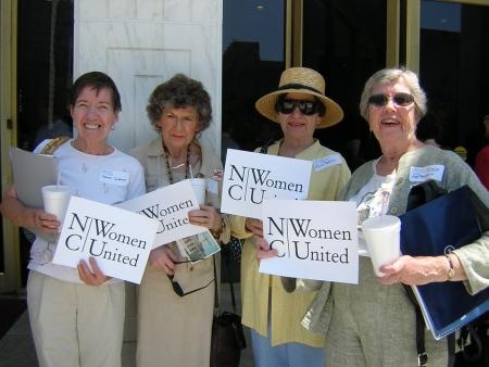 New Bern advocates at the Legislative Building