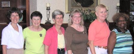 AAUW NC Exec Committee 2006-2007