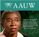 AAUW is a community of women who are there to help other women