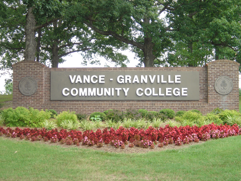 Vance Granville CC; Used with permission
