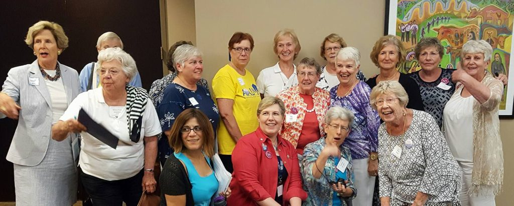 AAUW members at Bennett V